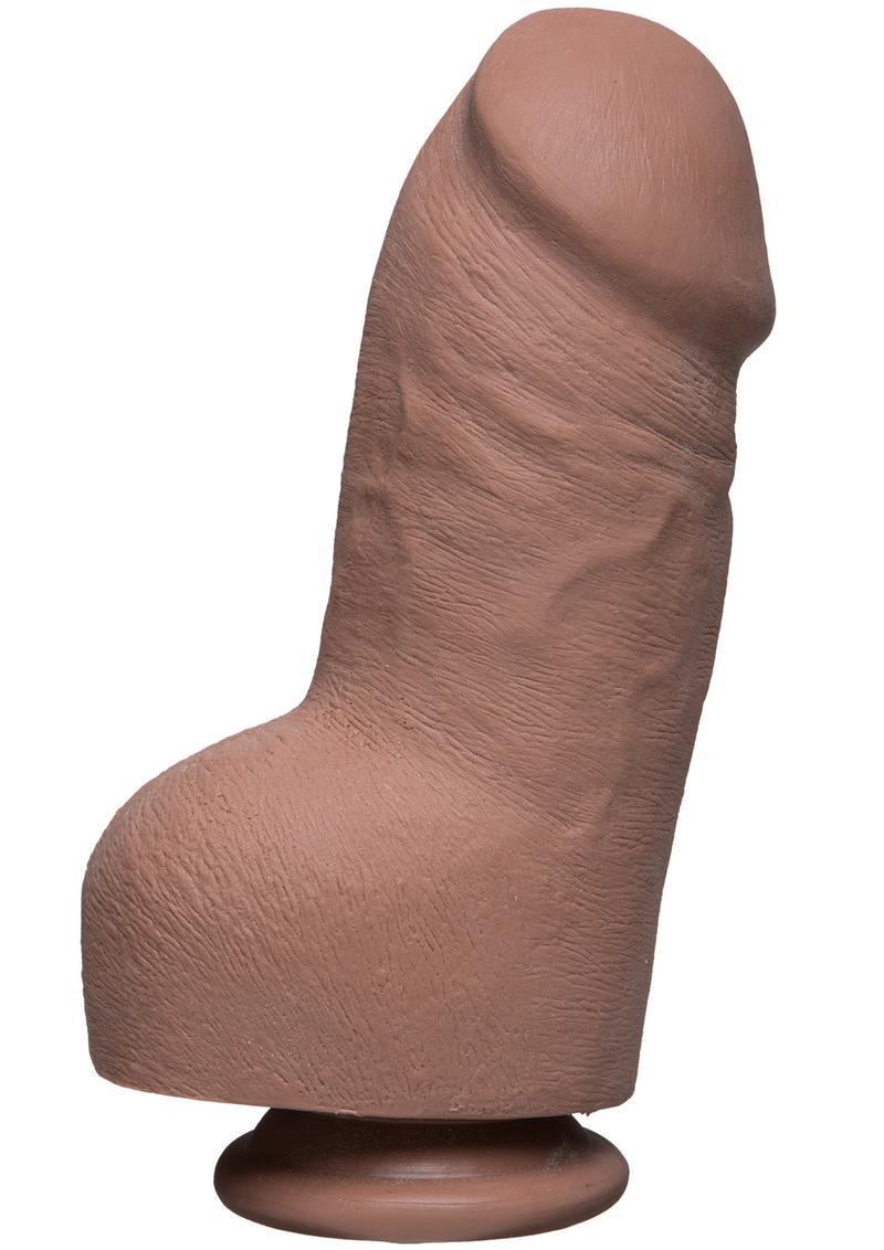 The D Fat D W/balls Ultraskyn  8 inch Dildo Non Vibrating