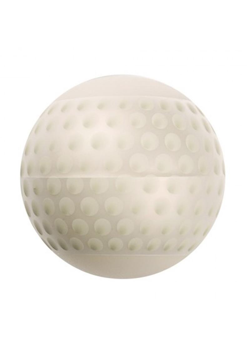 Linx Fore Stroker Ball Masturbator Nubby Texture Waterproof Clear