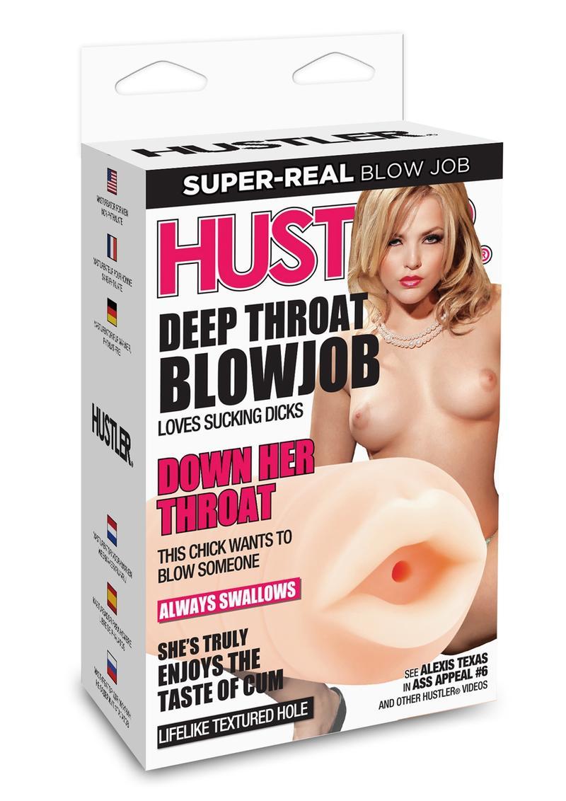 Hustler Deep Throat Blowjob Masturbator Non Vibrating Waterproof Alexis Texas