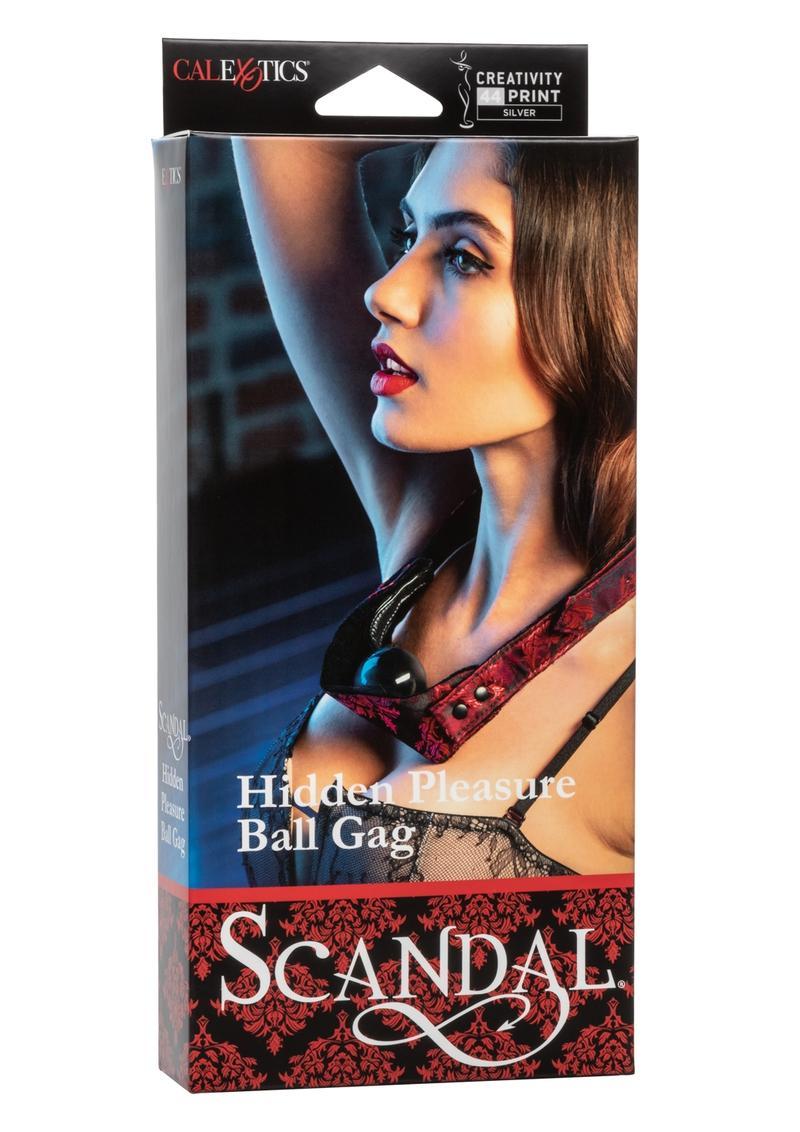 Scandal Hidden Pleasure Ball Gag Adjustable