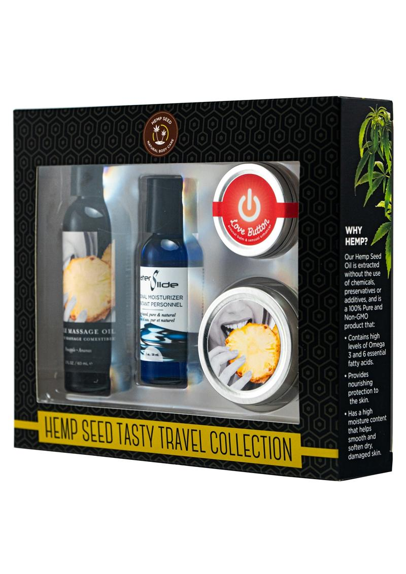 Hemp Seed Tasty Travel Collection Kit Pineapple