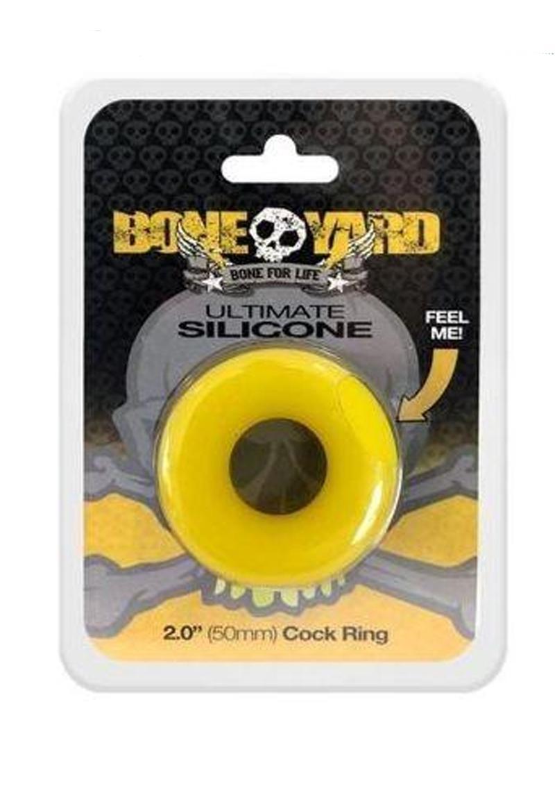 Bone Yard Ultimate Silicone Ring Yellow