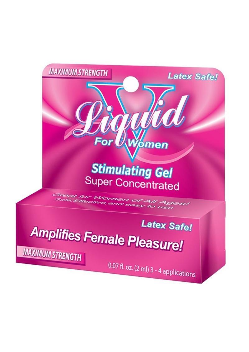 Liquid V Stimulating Gel For Women 0.1 Ounce