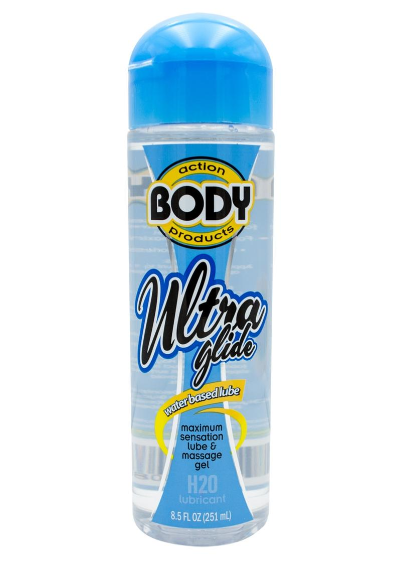Body Action Ultra Glide Water Based Lubricant 8.5 Ounce