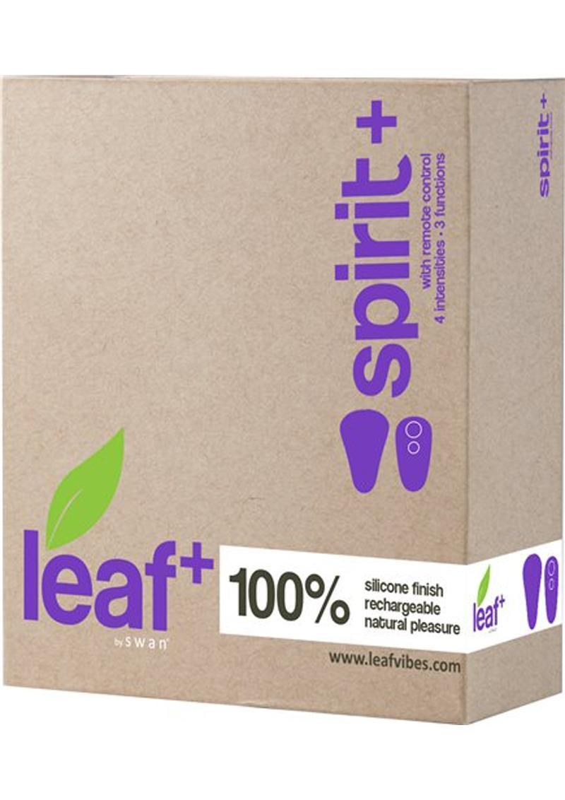 Leaf Spirit Vibrator With Remote Control Multi Function Rechargeable Waterproof