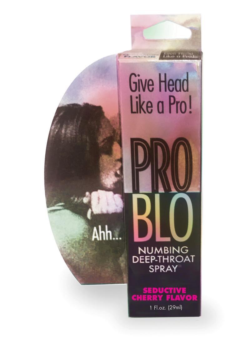 Pro Blow Numbing Deep-Throat Spray Seductive Cherry 1 Ounce