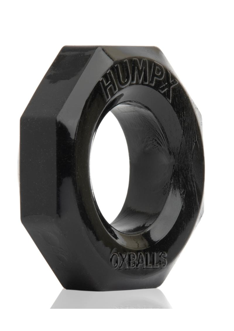 Humpx Cockring Silicone Black