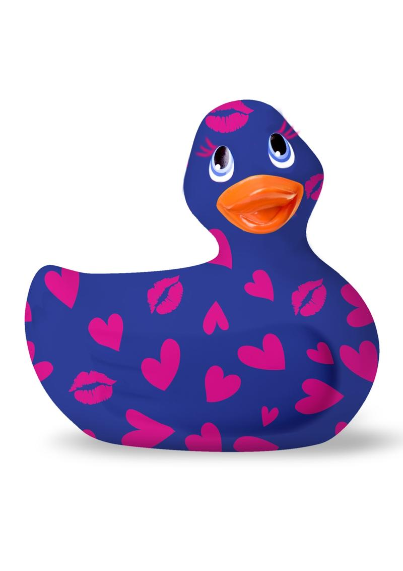 I Rub My Duckie Romance 2.0 Classic Waterproof Vibrating Massager  Blue