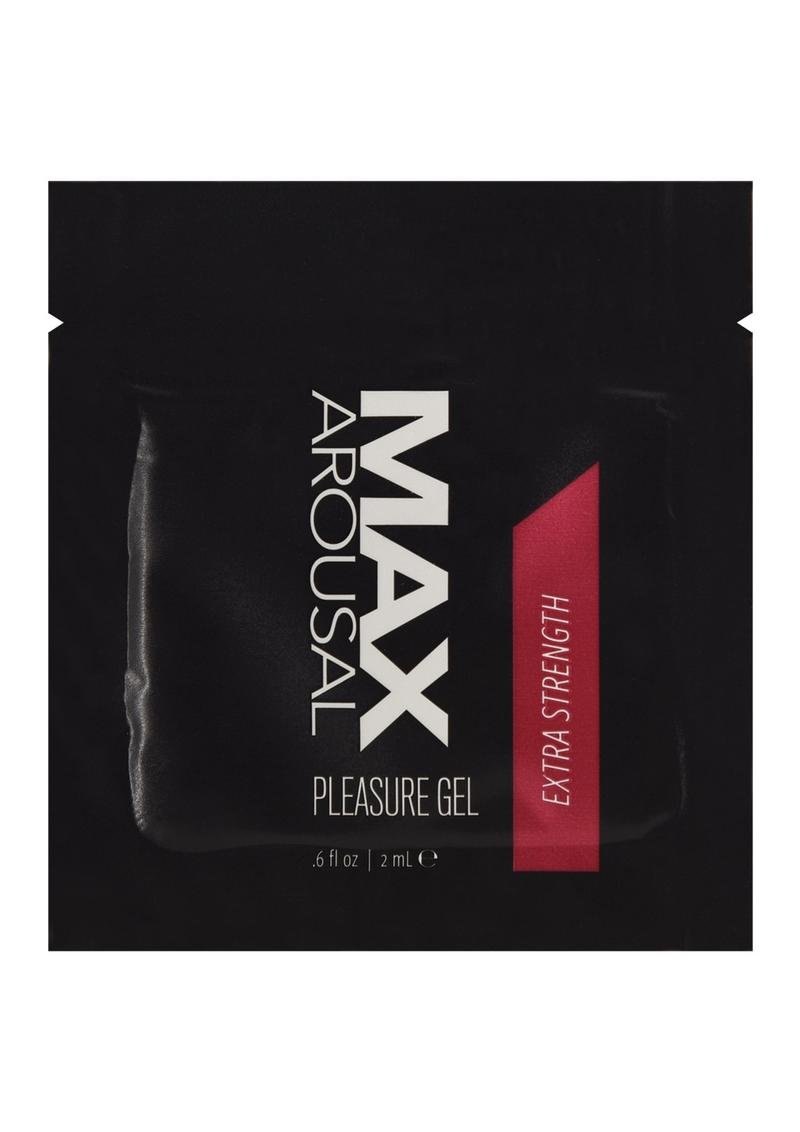 Max Arousal Gel Extra Strength Foil 24/Bag