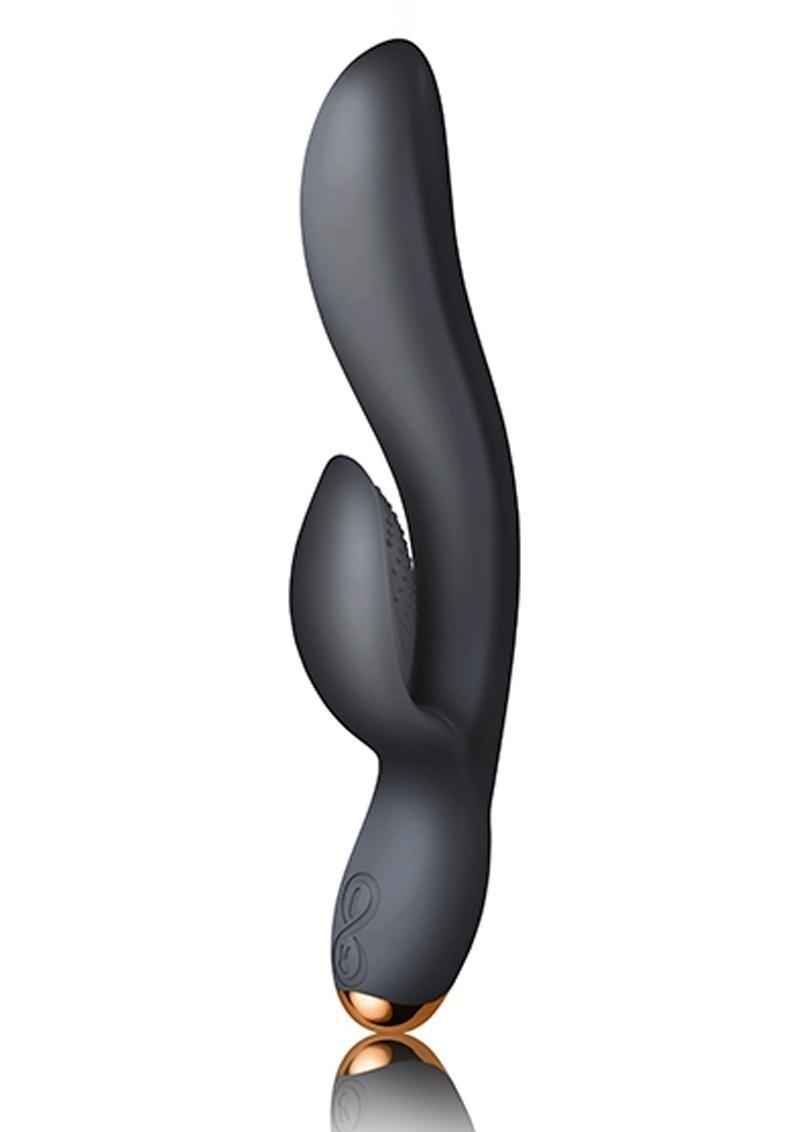 Regala Surrender to Ecstasy Rabbit Waterproof USB Rechargeable Black