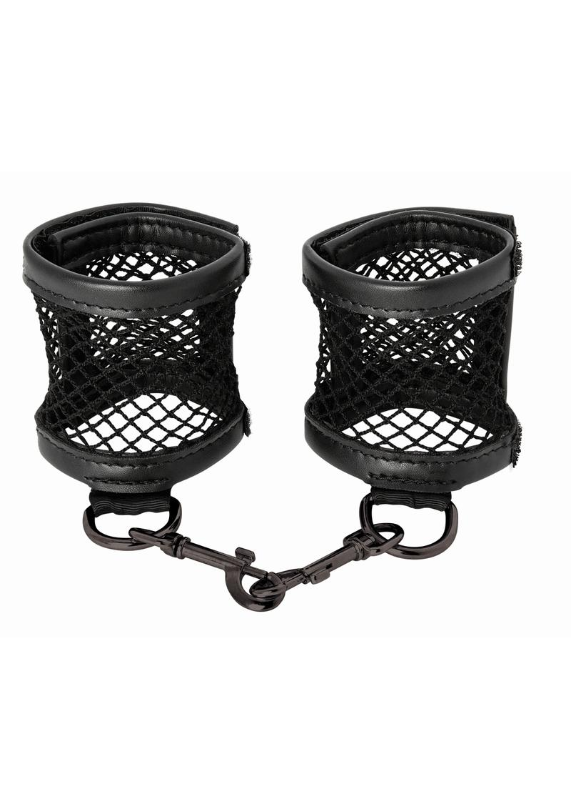 Sandm Fishnet Cuffs