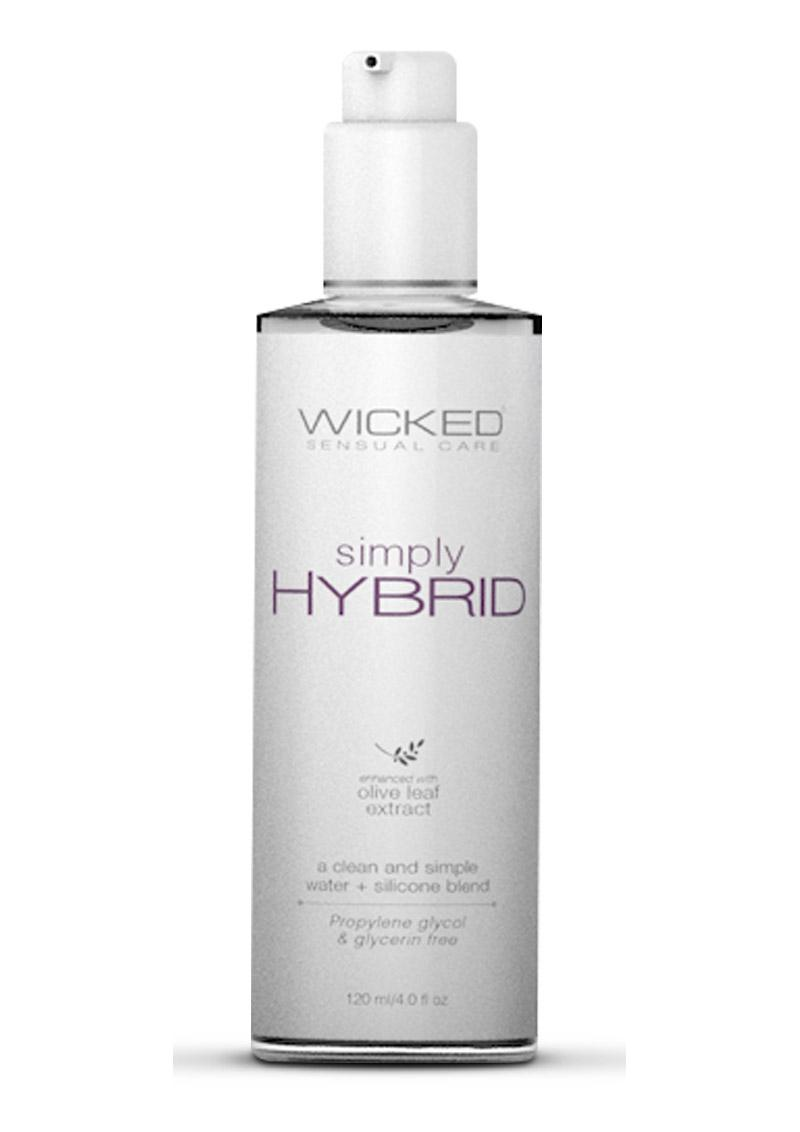 Wicked Sensual Care Simply Hybrid With Olive Leaf Extract 4 Ounce Bottle