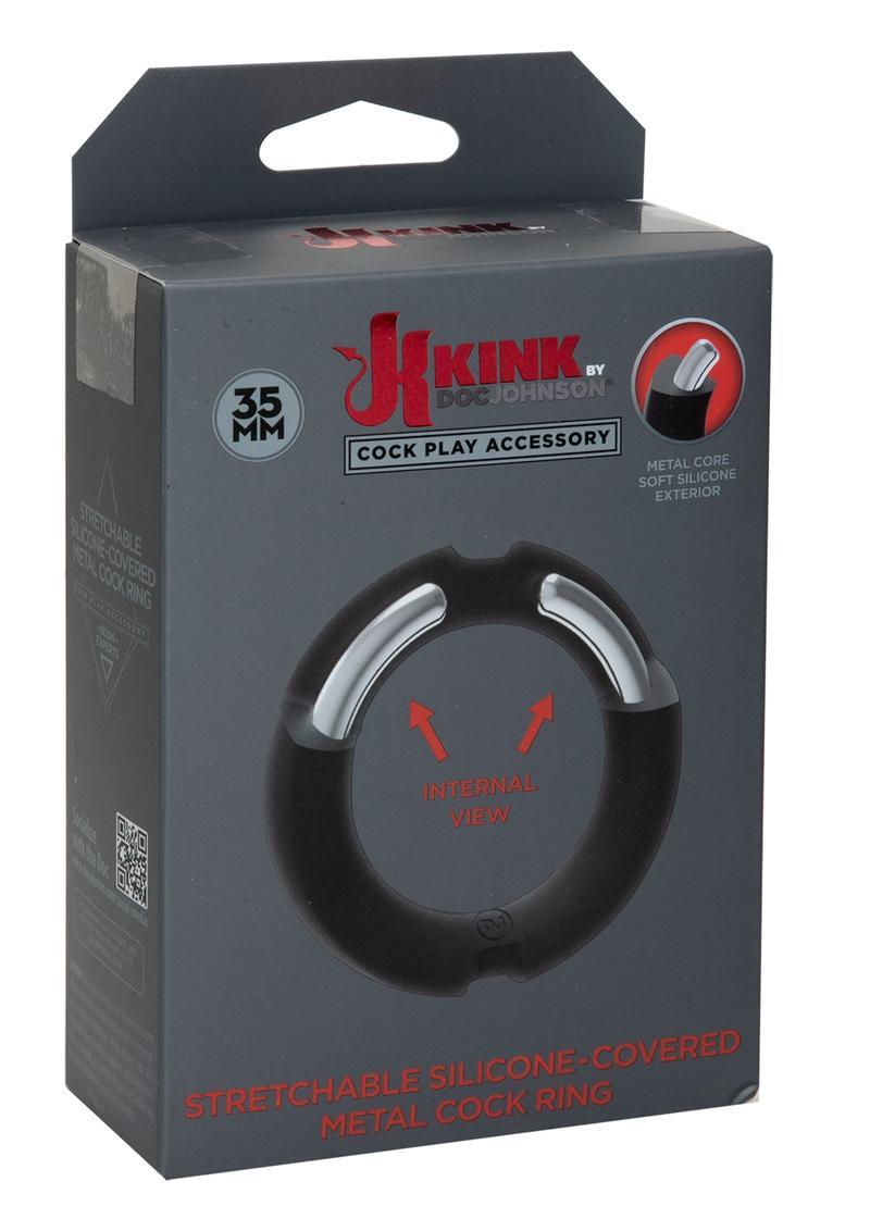 Kink Hybrid Sil Covered Metal Ring 35mm