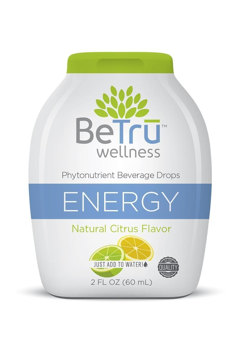 Be Tru Energy Citrus Shot 2 Oz Beverage Drops