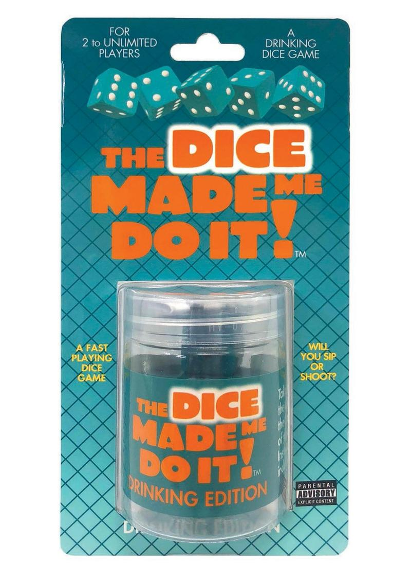 The Dice Made Me Do It Drinking Edition