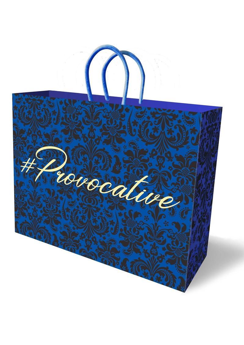 # Provacative Gift Bag Blue/Black