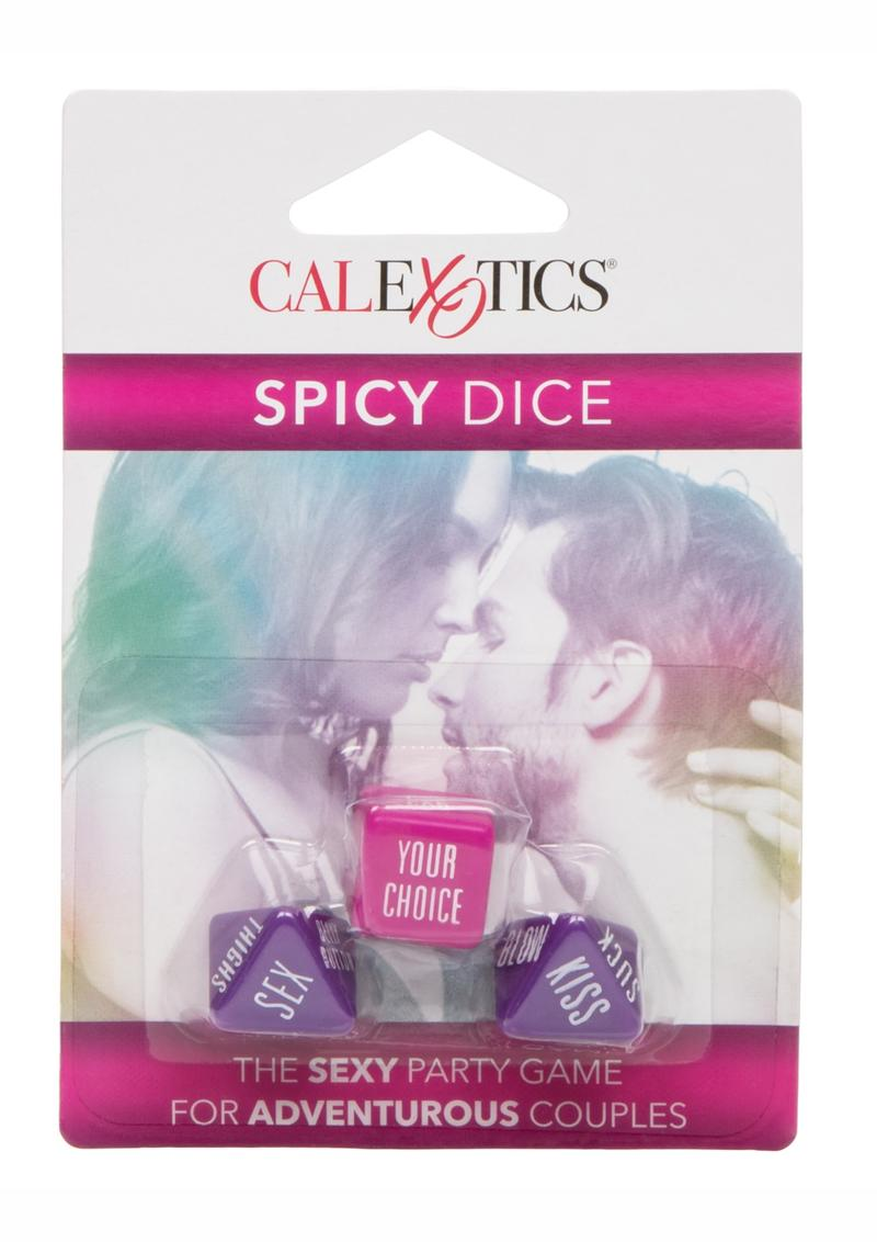 Spicy Dice Couples Game