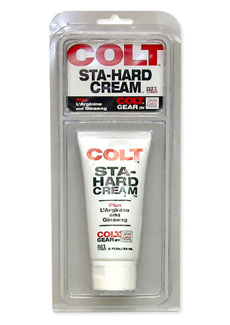 Colt Sta-Hard Cream Male Genital Desensitizer 2oz