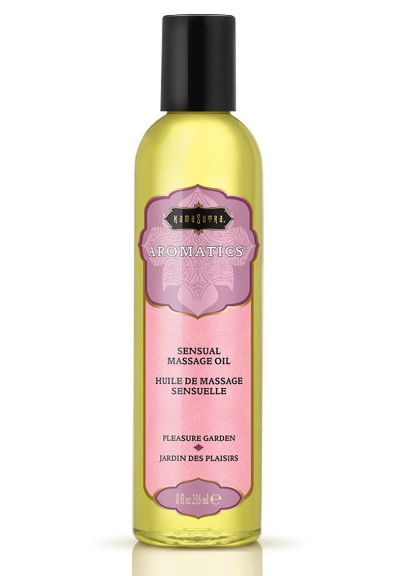 Aromatics Massage Oil Pleasure Garden 8 Ounce