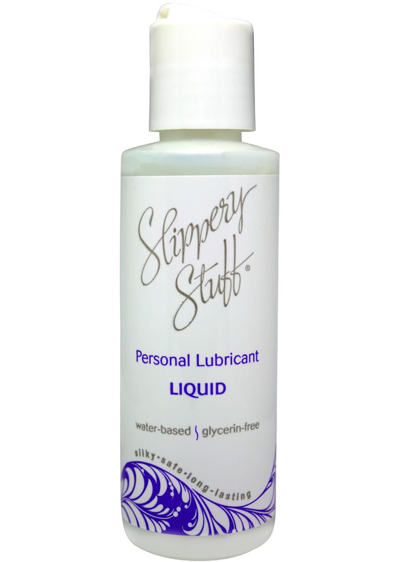Slippery Stuff Liquid Water Based Lubricant 4oz