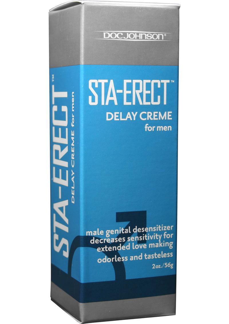 Sta Erect Delay Creme For Men 2 Ounce