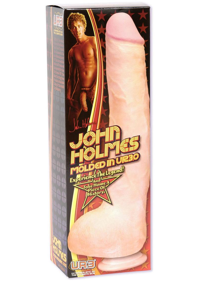 Signature Cocks John Holmes Dildo - Vanilla
