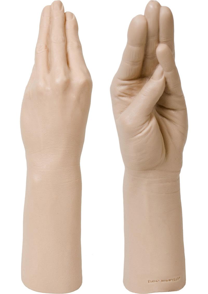 Belladonna`s Magic Hand Dildo 11.5in - Vanilla