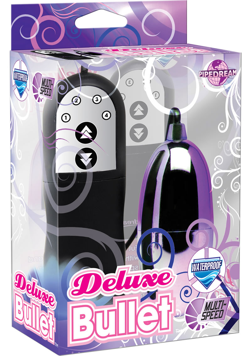 Deluxe Bullet With Remote Control - Purple