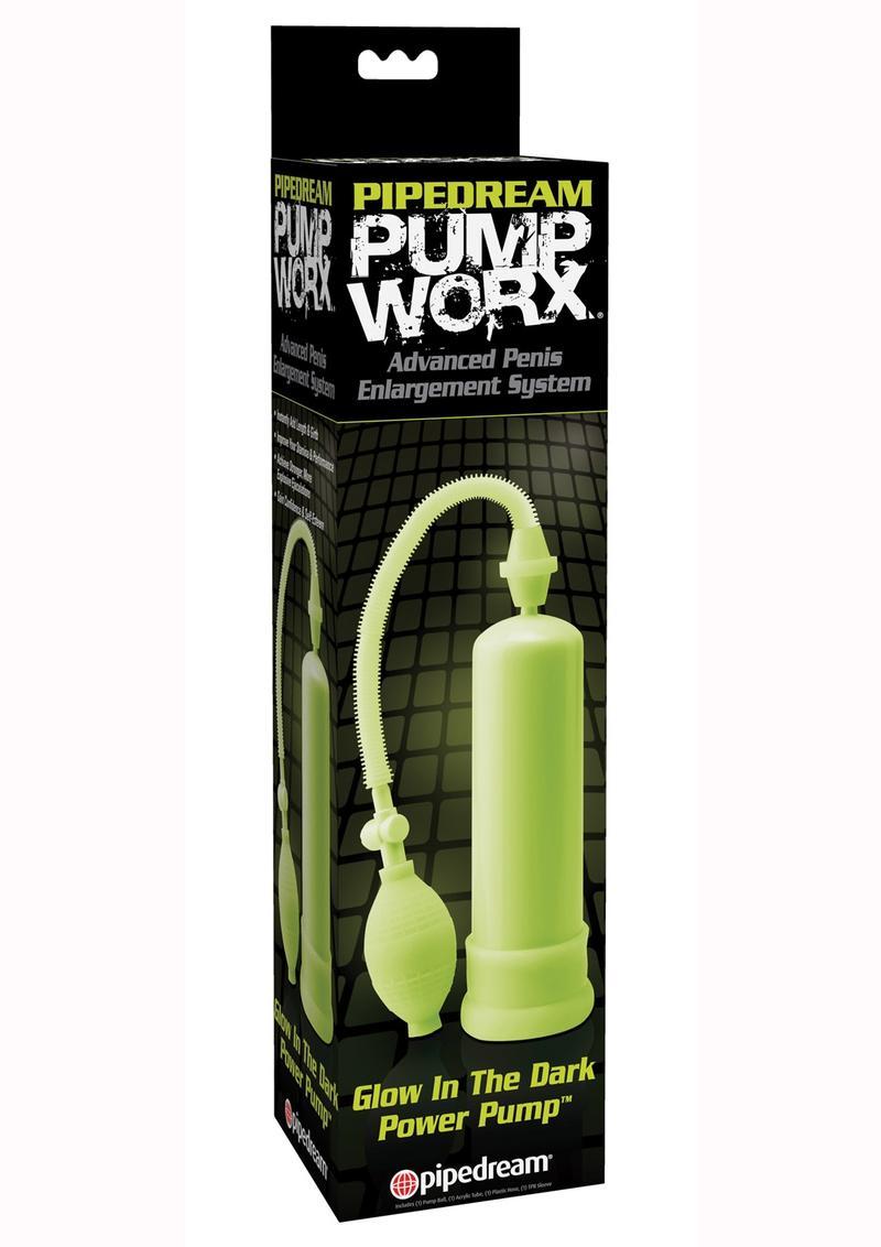 Pump Worx Glow-In-The-Dark Power Pump Advanced Penis Enlargement System