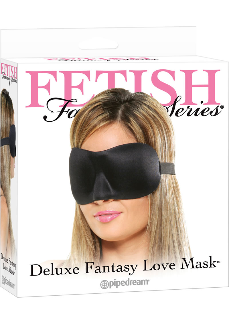 Fetish Fantasy Series Deluxe Fantasy Love Mask Black