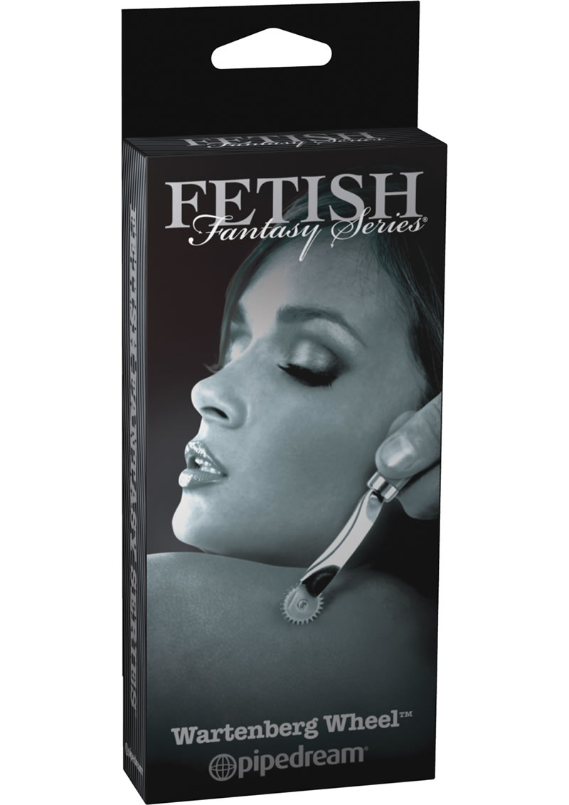Fetish Fantasy Series Limited Edition Wartenberg Wheel Stainless Steel