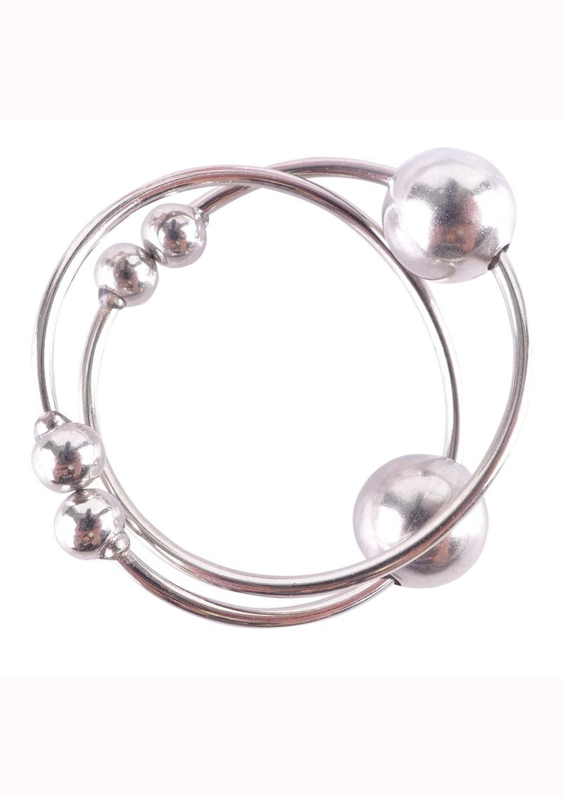 Fetish Fantasy Series Nipple Bull Rings - Silver