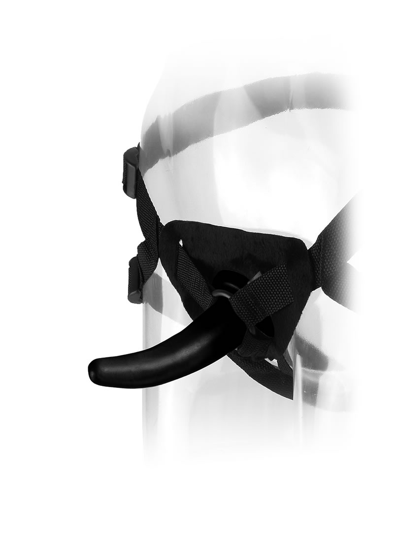Anal Fantasy Collection The Pegger Strap On Black 4.75 Inch
