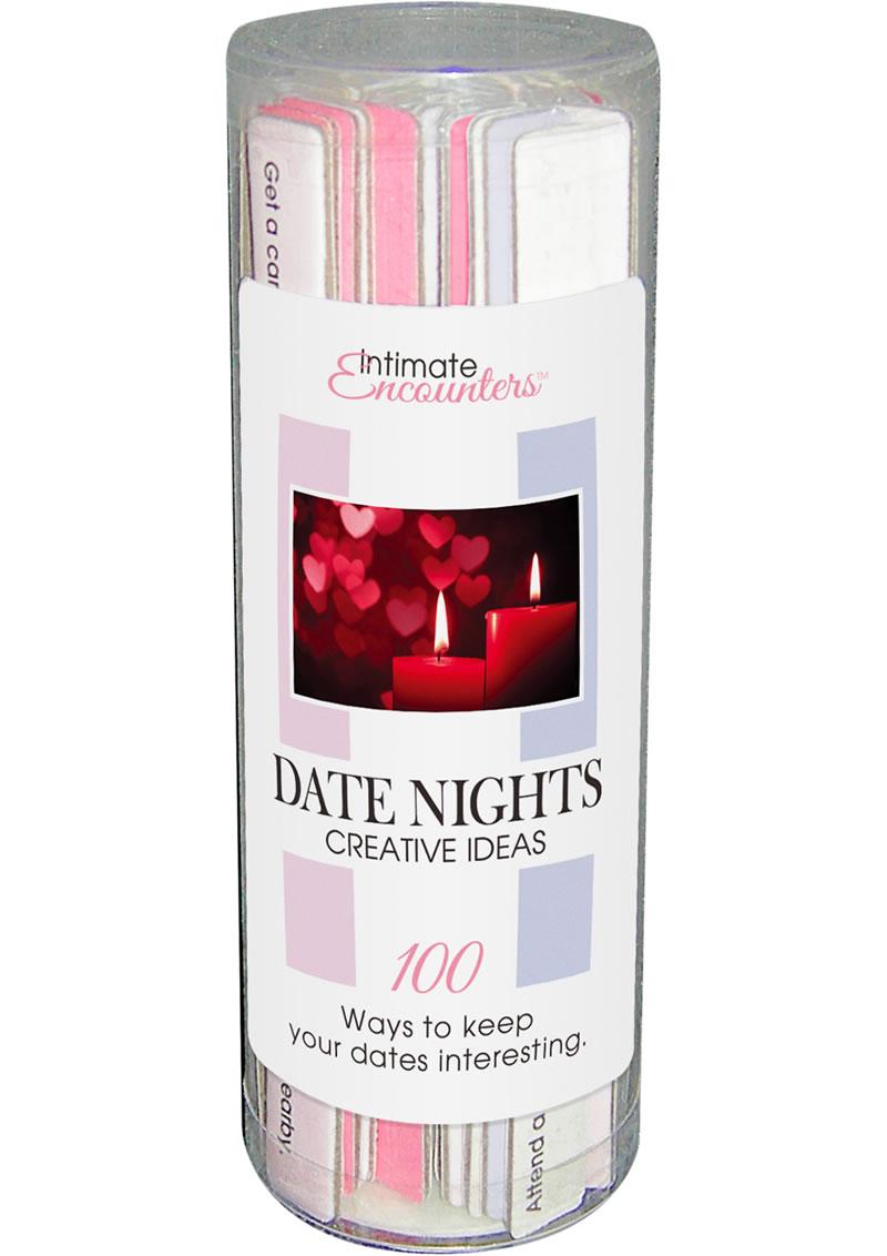 Intimate Encounters - Date Nights Creative Ideas
