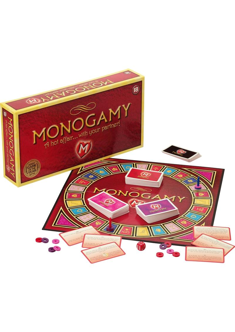 Monogamy: A Hot AffairWith Your Partner - FRENCH Language Board Game