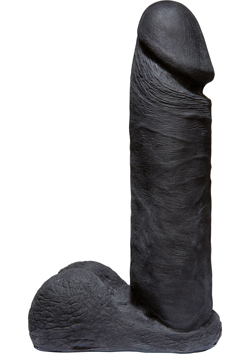 Vac-U-Lock CodeBlack Ultraskyn Dildo 8in - Black
