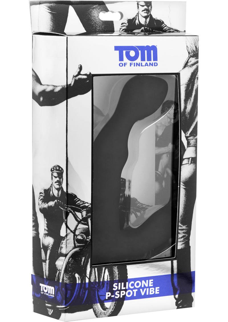 Tom Of Finland P-Spot Vibe - Black