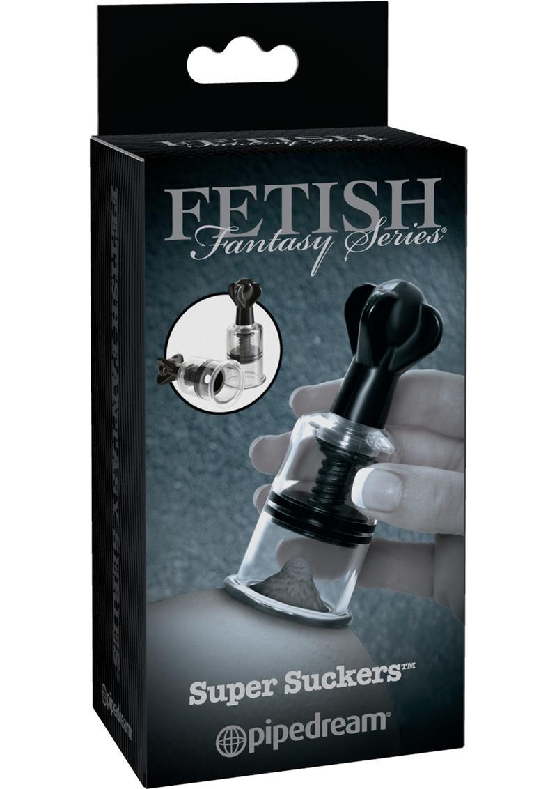Fetish Fantasy Series Limited Edition Super Suckers Black