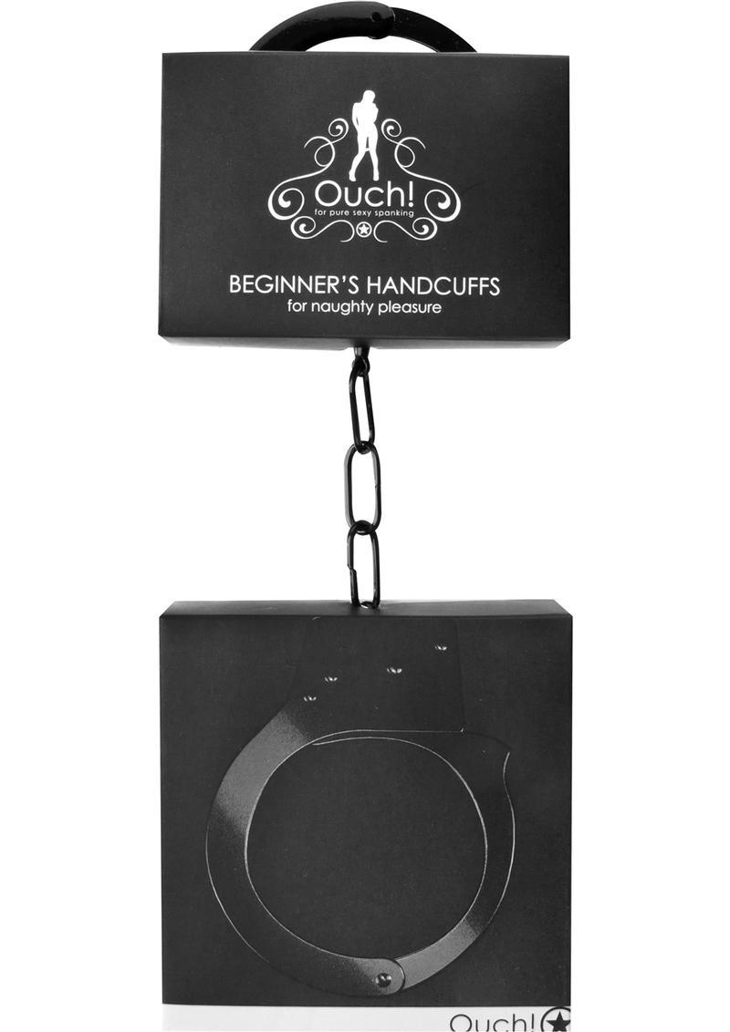 Ouch! Beginner`s Handcuffs - Black