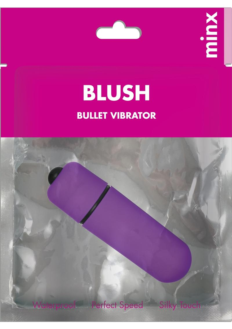 Minx Blush Bullet Vibrator- Purple