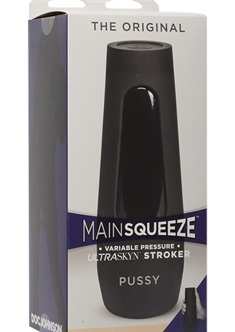 Main Squeeze The Original Ultraskyn Masturbator - Pussy - Vanilla