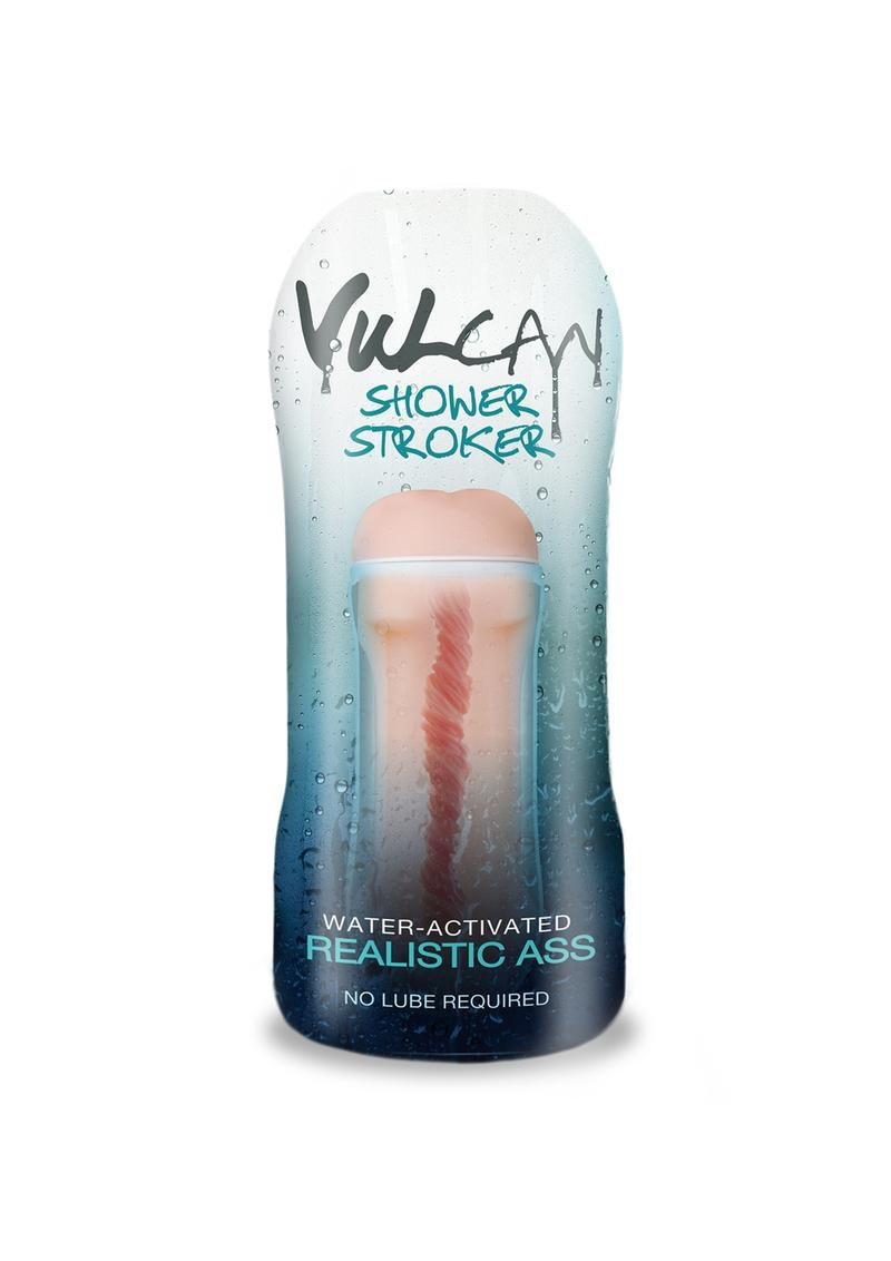 Vulcan Cyberskin H2O Shower Stroker Water Activated Realistic Ass Flesh