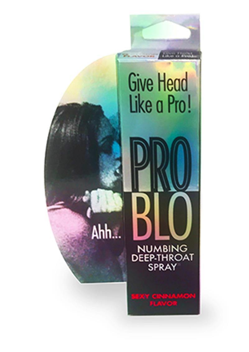 ProBlo Numbing Deep-Throat Spray 1oz - Sexy Cinnamon