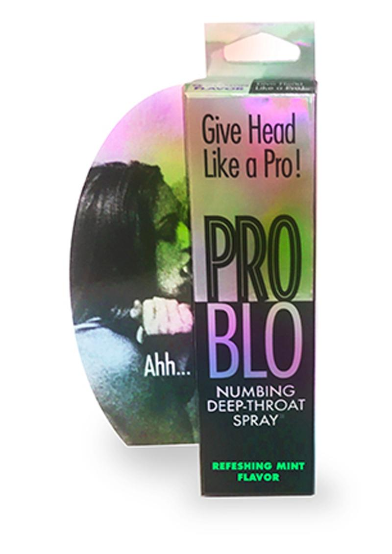 ProBlo Numbing Deep-Throat Spray 1oz - Refreshing Mint