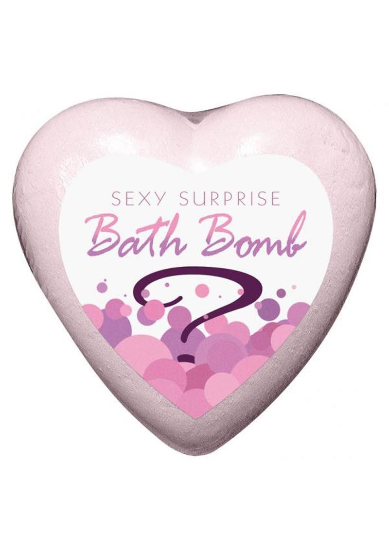 Sexy Surprise Bath Bomb Strawberry Champagne Scented