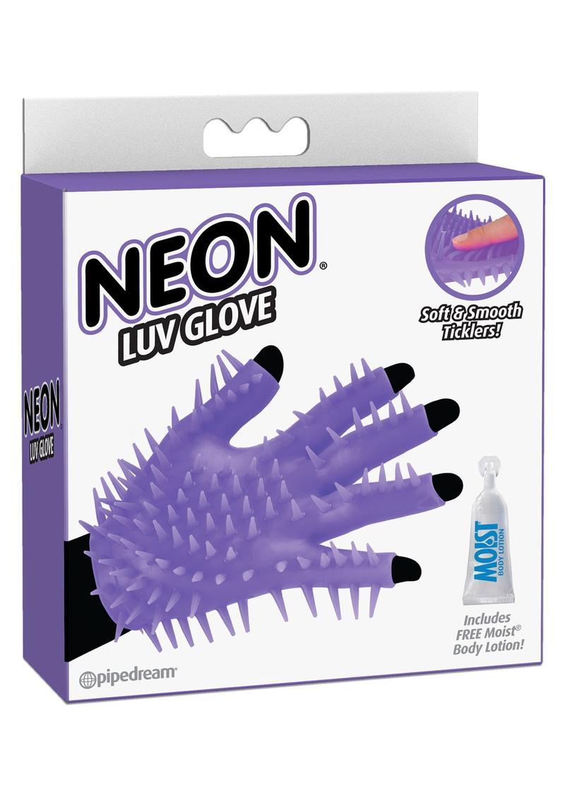 Neon Luv Tickler Glove - Purple
