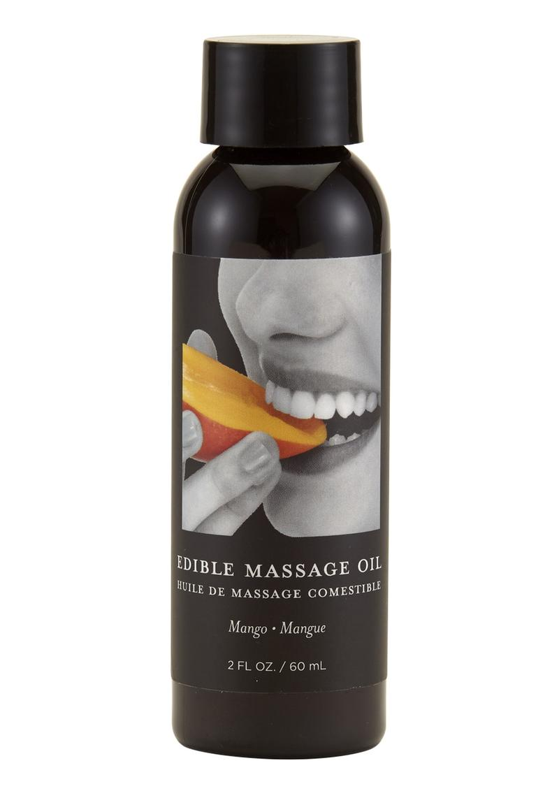Earthly Body Earthly Body Edible Massage Oil Mango 2oz