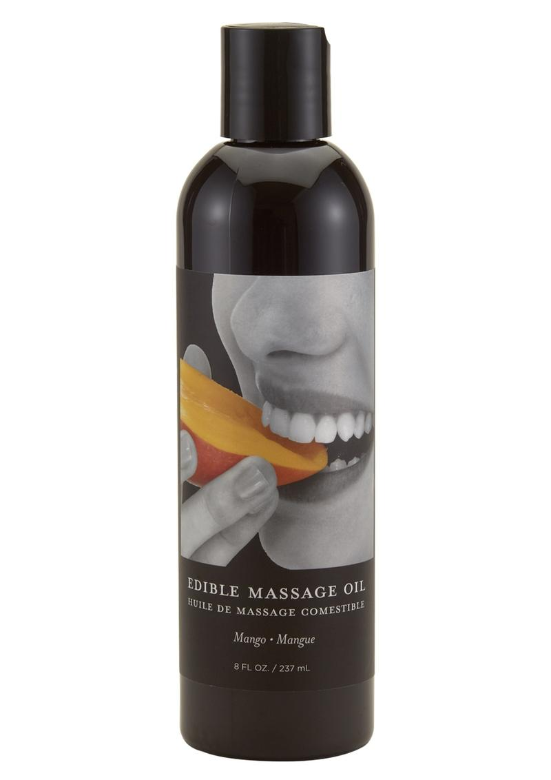 Earthly Body Earthly Body Edible Massage Oil Mango 8oz