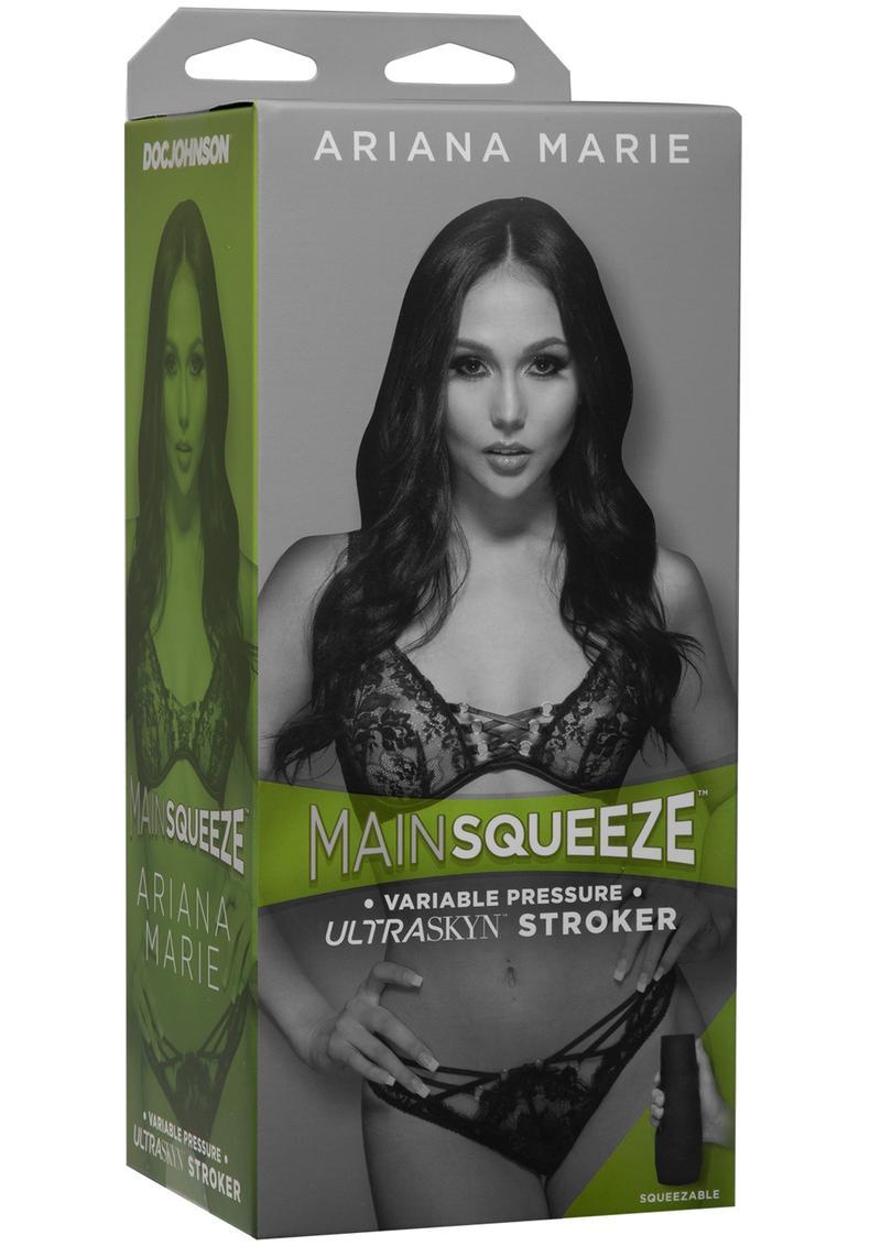 Main Squeeze Ariana Marie Ultraskyn Masturbator - Pussy - Vanilla