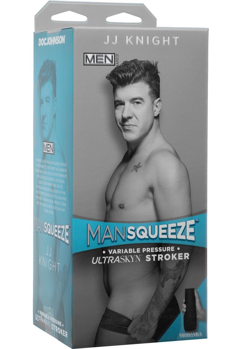 Man Squeeze JJ Knight Ultraskyn Masturbator - Butt - Vanilla